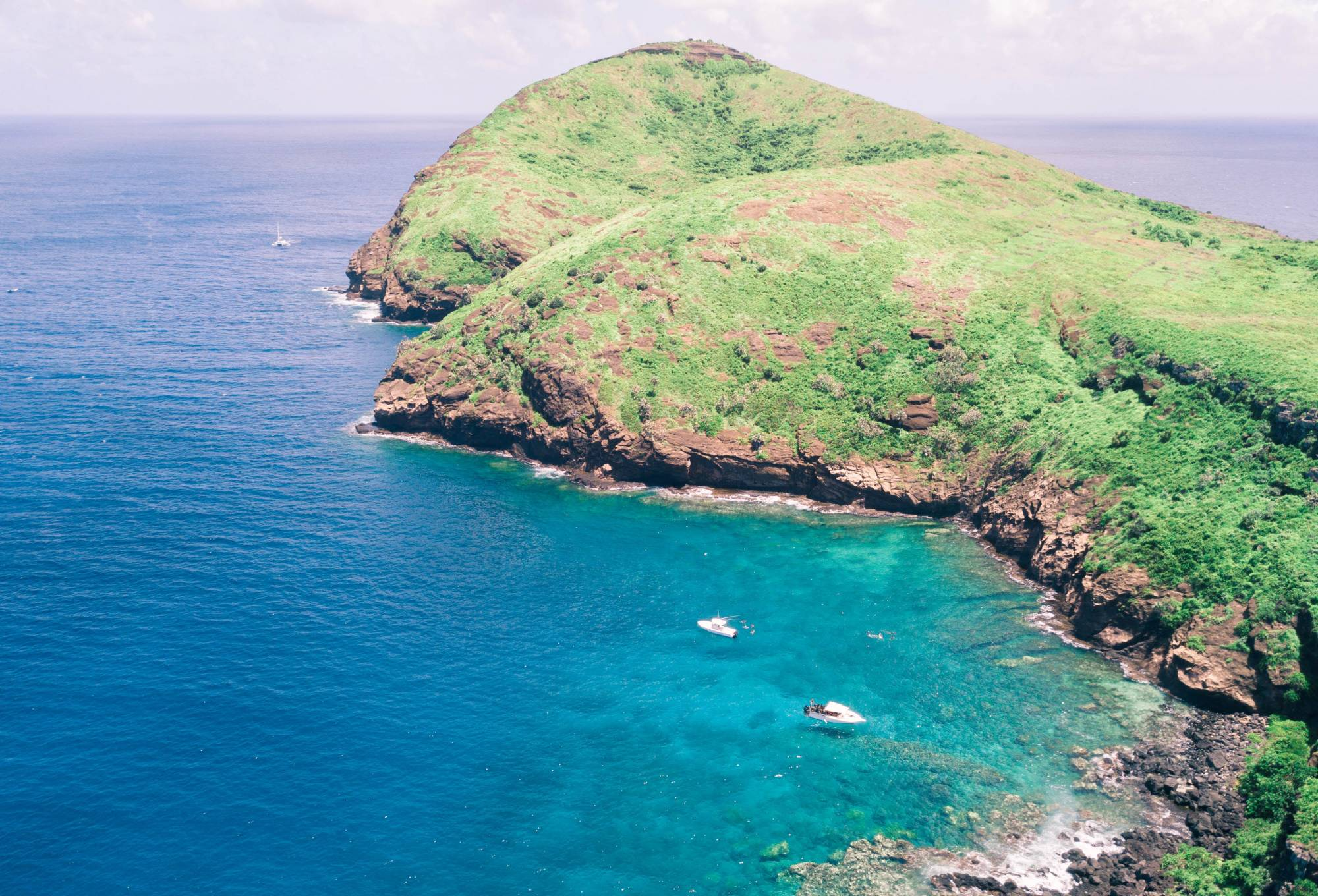 Discover Scuba Diving on Coin de Mire Island
