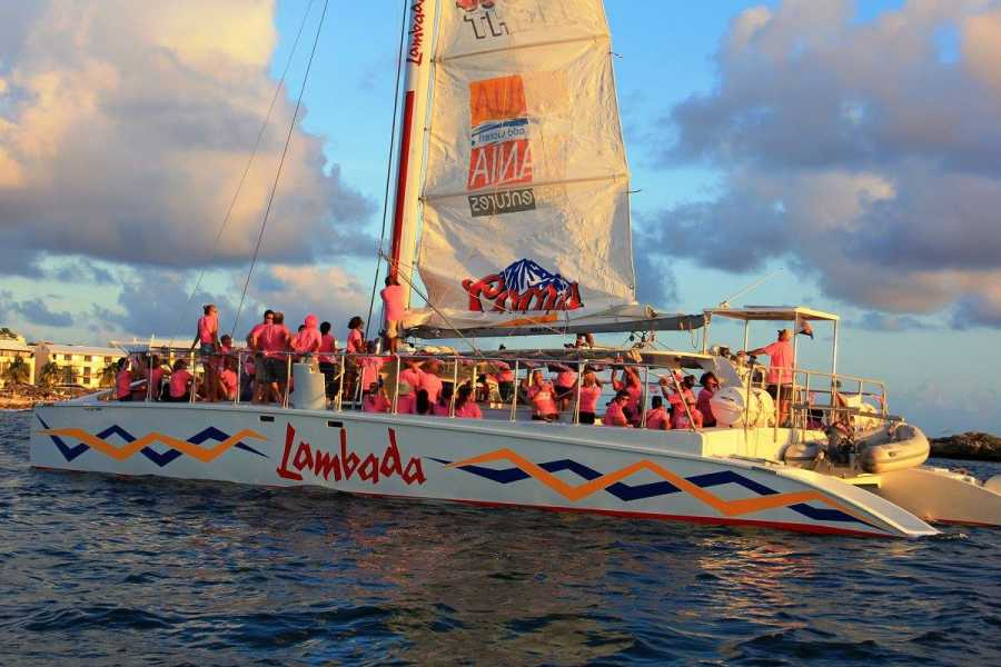 Aqua Mania Adventures PINK SUNSET SAIL 2019