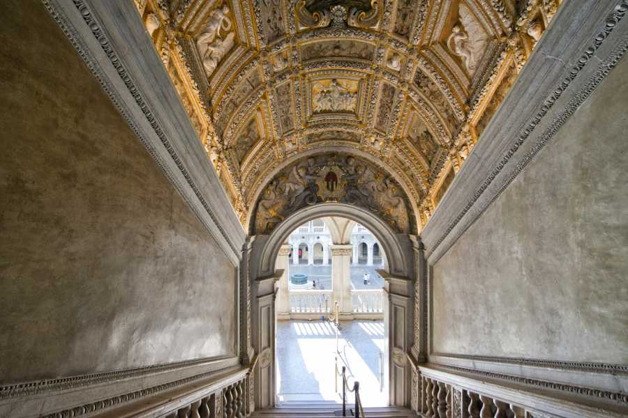 Venice Tours srl Inside Venice - The doge's Palace (skip the line) + The golden Basilica (skip the line) and entrance ticket to old Royal palace!