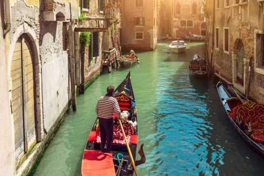 Venice Tours srl The Doge's Palace (skip the line) and entrance ticket to old Royal Palace + Venetian waterways and Grand Canal by gondola (skip the line)!