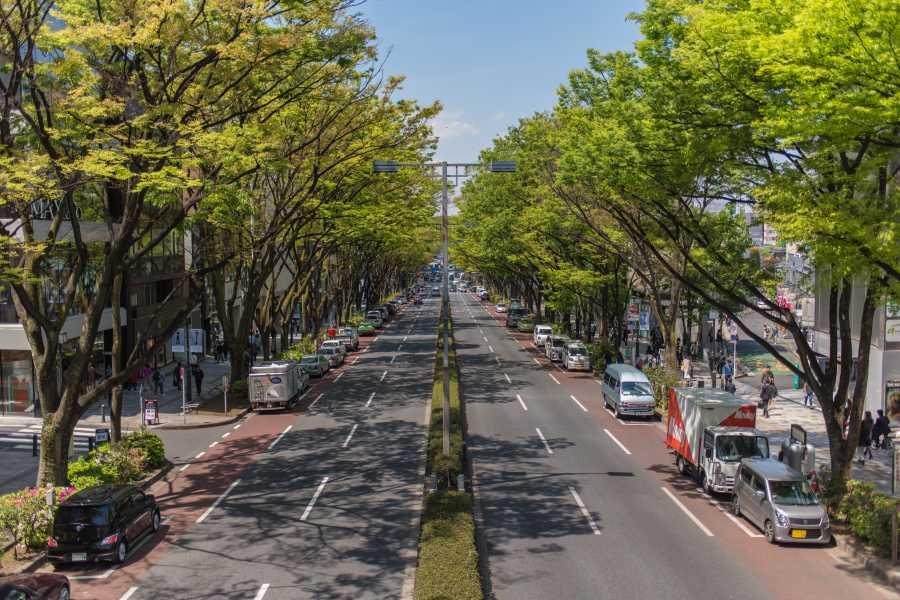 Mina Japan 東京建築物巡り(西ゾーン)