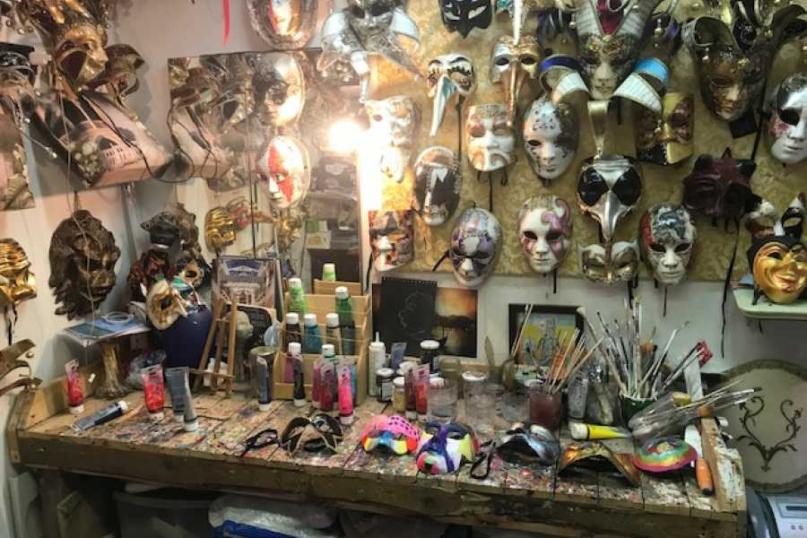 Venice Tours srl CREATE YOUR OWN VENICE CARNIVAL MASK - DECORATION OR/AND PRODUCTION COURSE!