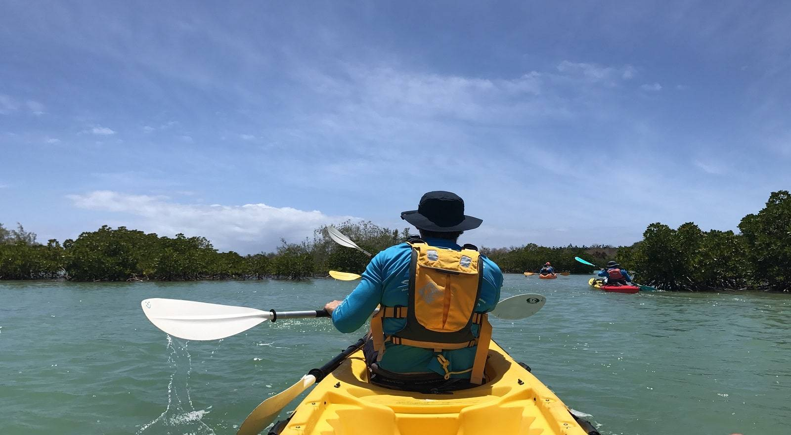 Sea Kayaking Ambre Island in Mauritius