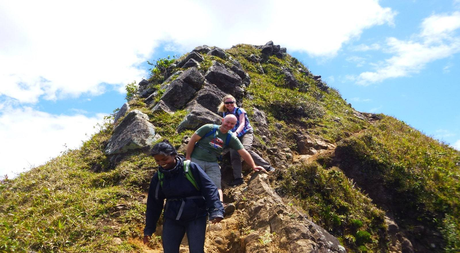 Hiking Le Pouce Mountain - Third Highest peak of Mauritius