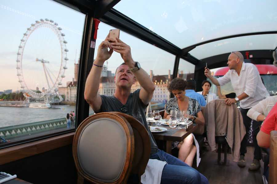 Muslim History Tours Panoramic fine dining dinner experience onboard high-end bus