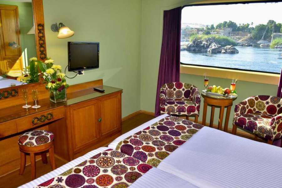 Excursies Egypte 5 Days Nile Cruise -Luxor Aswan