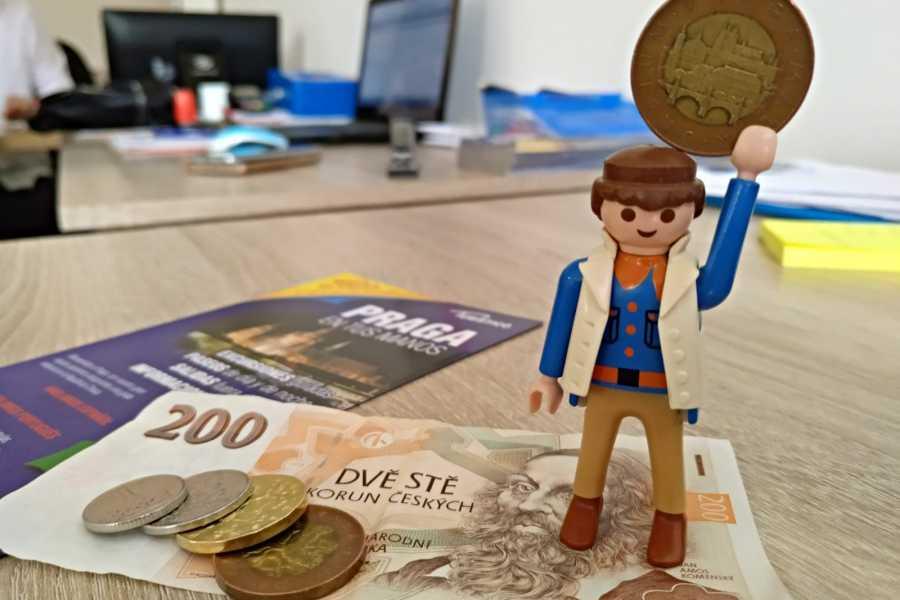Turistico s.r.o. La moneda checa