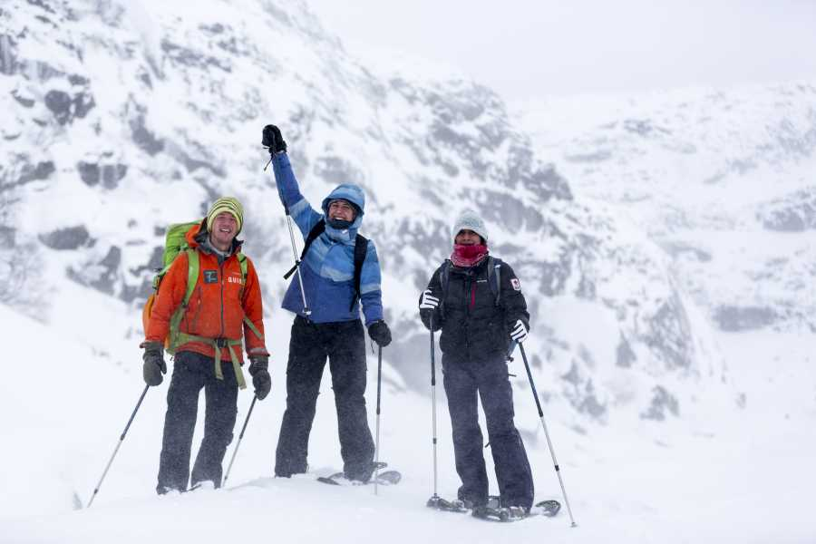Outdoorlife Norway AS 2-day Fjord & Mountain Snowshoe Trek