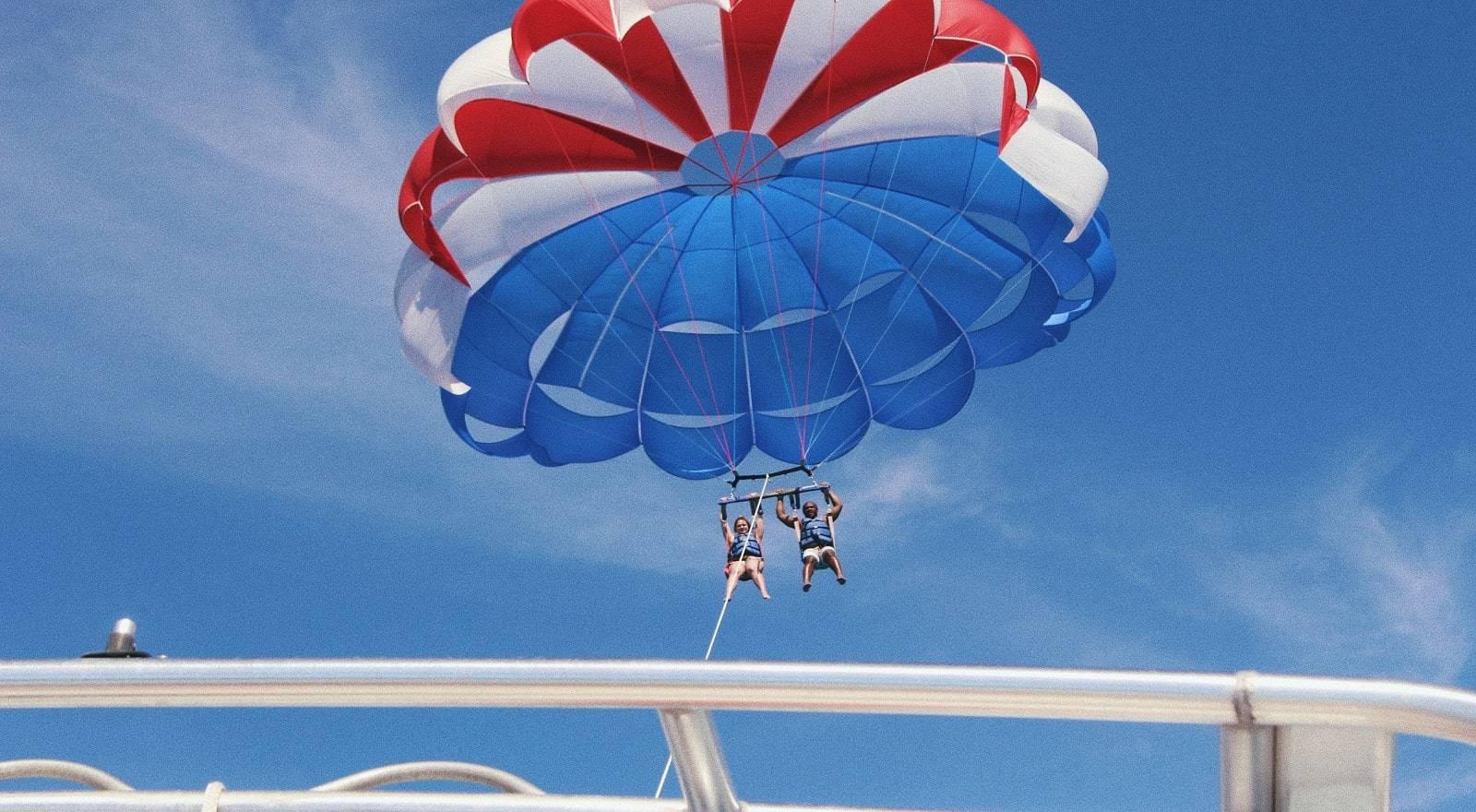 Parachute ascensionnel Belle Mare