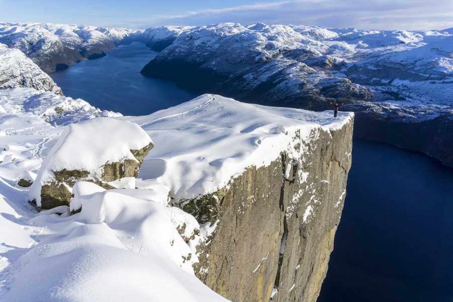 Outdoorlife Norway AS Preikestolen Winter Spring Cruise & Hike