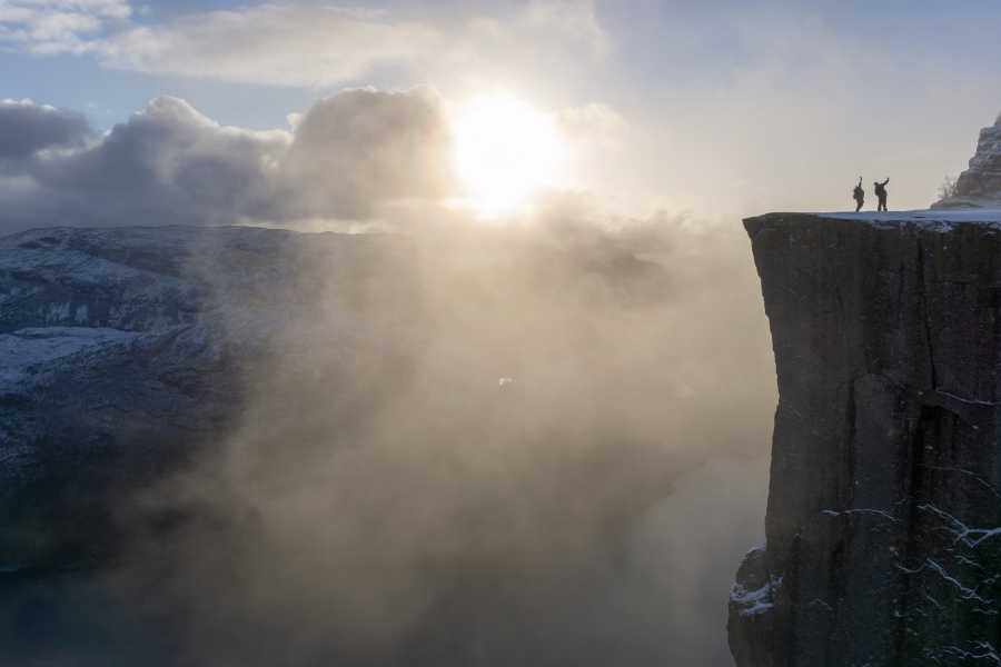 Outdoorlife Norway AS Preikestolen Winter Spring Cruise & Hike