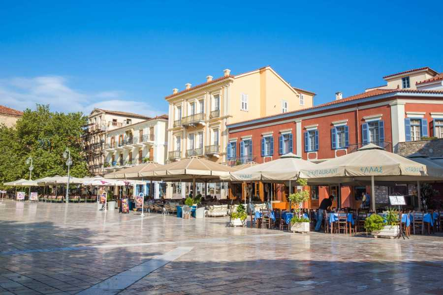 Grekaddict City walking tour of Nafplio