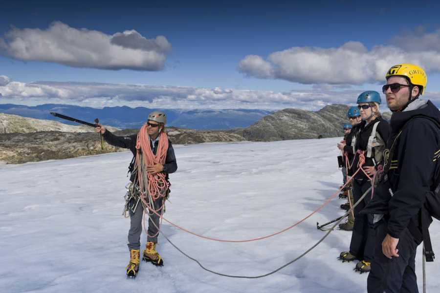 Norway Insight Guided blue ice hike Juklavass glacier