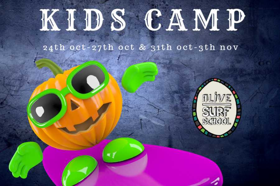 Alive Surf School Halloween Kids Camp