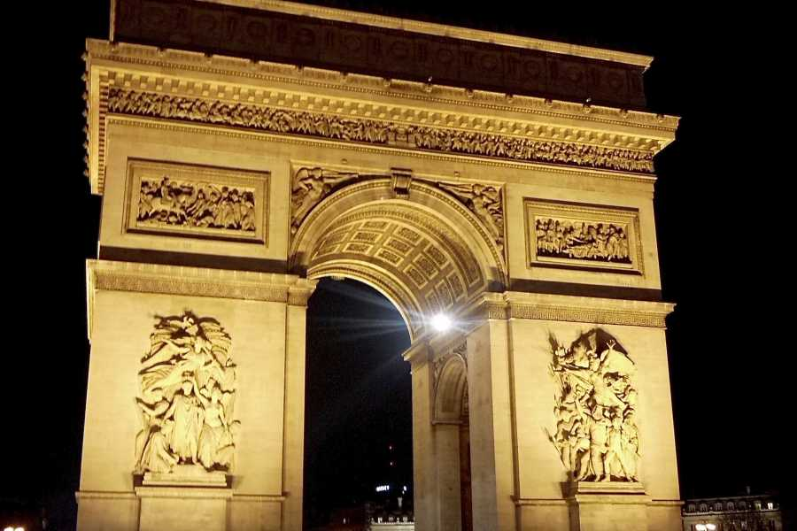 Memories France Christmas in Paris: The Champs Elysées & the Arc de Triomphe