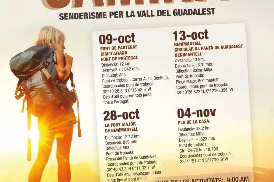 TURURAC. Turismo Activo y de Aventura II BENIMANTELL CAMINA Senderismo por la Vall de Guadalest