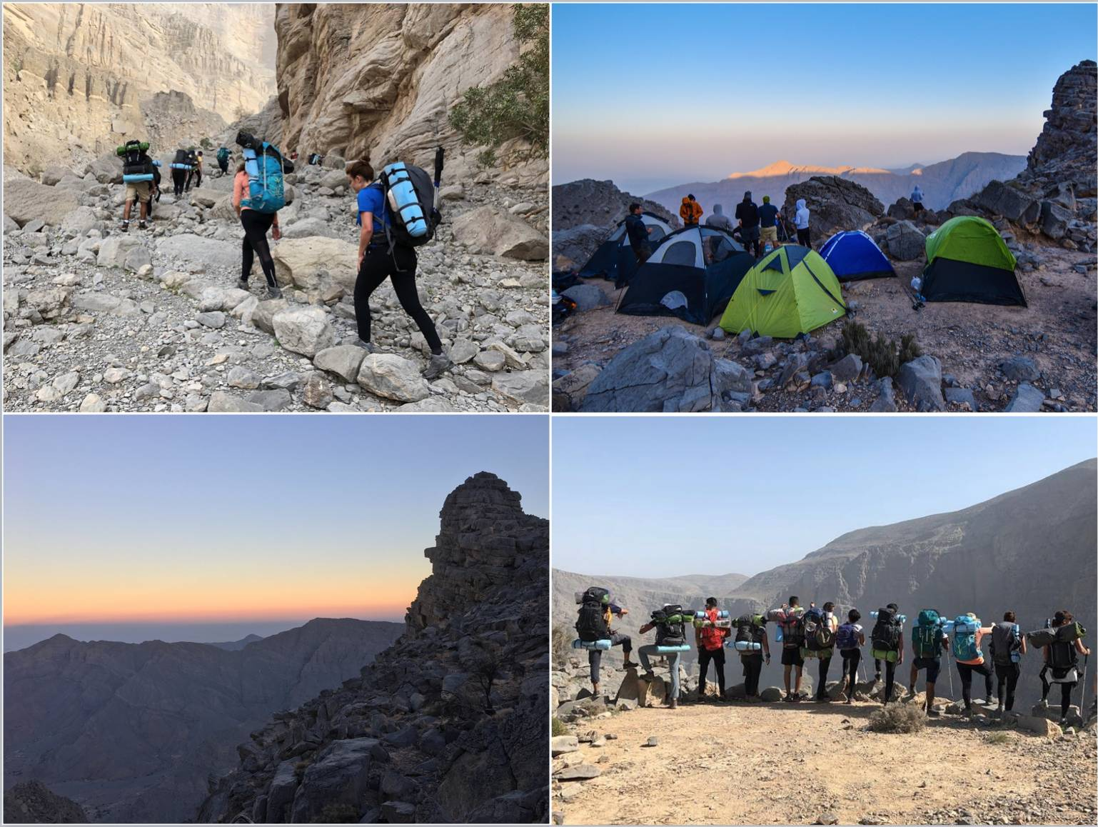 Backpacking Balcony Hike - UAE - Adventurati Outdoor