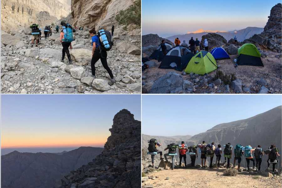 Adventurati Outdoors Backpacking Balcony Hike - UAE