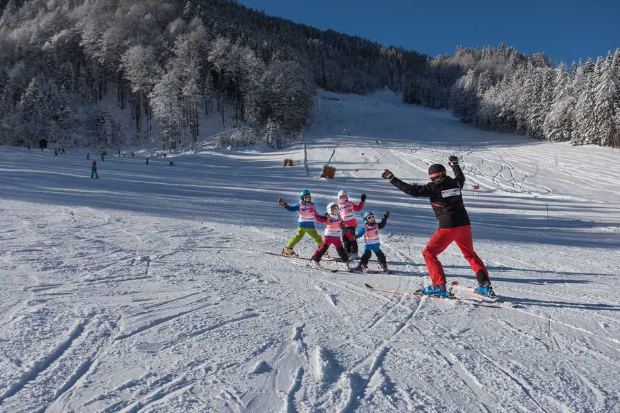 Intersport Bernik Skiing kindergarten for children 3-6 years