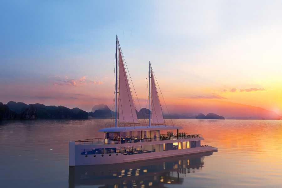 Friends Travel Vietnam Lan Ha Bay Luxury Day Tour - Jade Sails