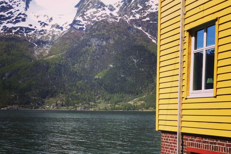 Stana Gard Yellow house Same price always Up! Norway   (As activity)