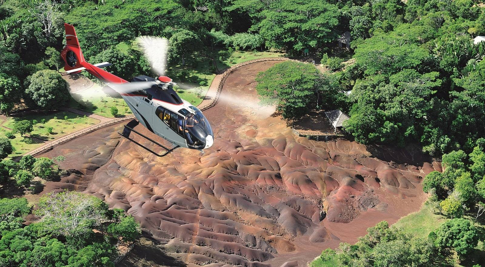 Helicopter Tour Mauritius