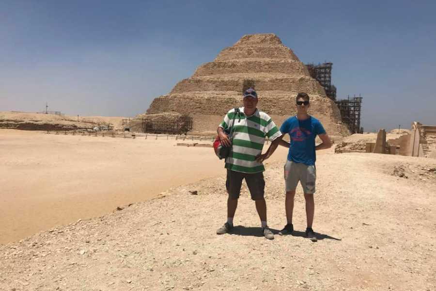Excursies Egypte Giza Pyramids & Sphinx, Saqqara & Dahshur with Lunch
