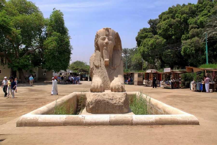 Excursies Egypte Dag excursie naar de Piramiden van Giza,de Sfinx  Memphis en Sakara