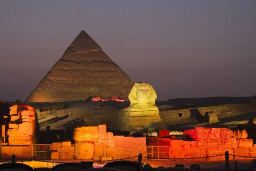 Excursies Egypte Giza Pyramids Sound and Light Show with Dinner