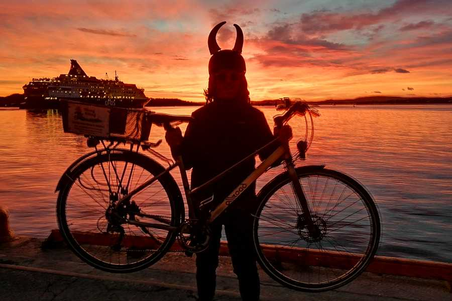 Viking Biking & Hiking Public Bike Tour: Oslo Winter Highlights (Nov-March)