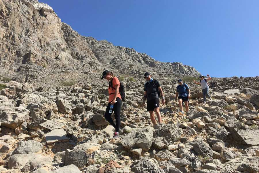 Adventurati Outdoor Samar Trail hike in Jebel Jais