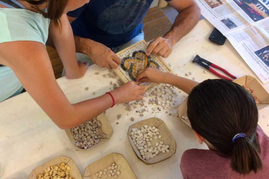 Ravenna Incoming Convention & Visitors Bureau Workshop di mosaico per bambini
