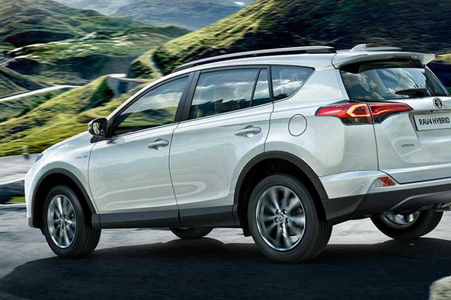 Krain Concierges Toyota RAV 4 Daily Rental