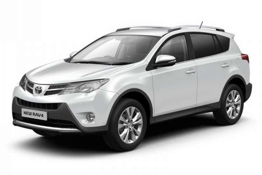 Krain Concierges Toyota RAV 4 Daily Rental