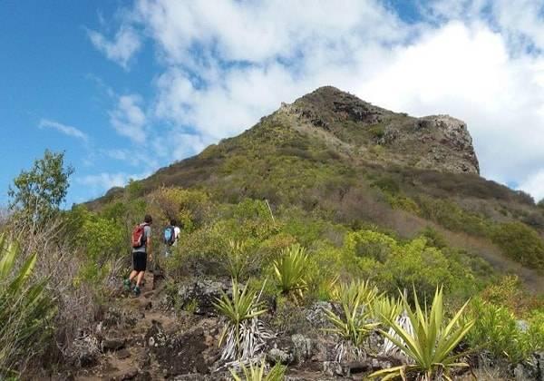Hiking in Mauritius - La Tourelle du Tamarin Mountain