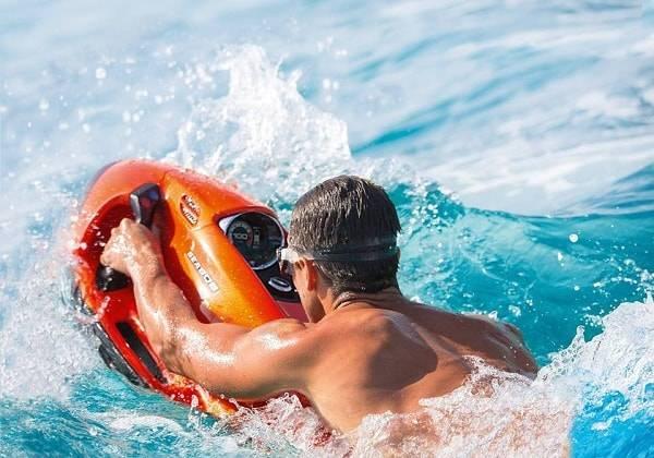 Wellenreiten mit SEABOB