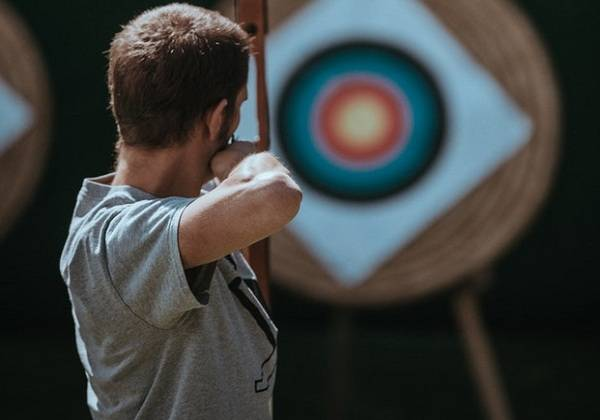 Archery Initiation at Lavilleon Natural Forest