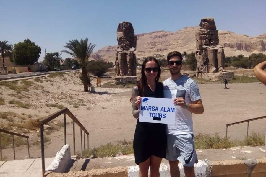 Marsa alam tours luxor two days tour from Hurghada with hotair balloon