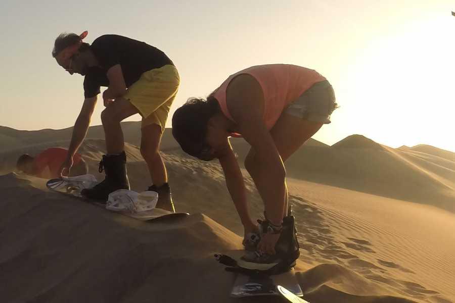 SANDPERU A1 SAND EXPERIENCE • SANDBOARDING • SANDSKIING