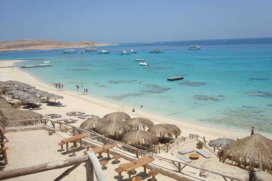 Paradise Island Schnorchelausflug Von Hurghada Egypt Travel Packages Egypt Holiday Packages Egypt Tour Packages Egypt Vacation Packages