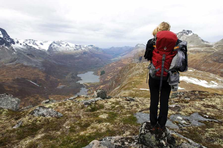 Contrast Adventure Norway Hiking on the top of fjord Norway!