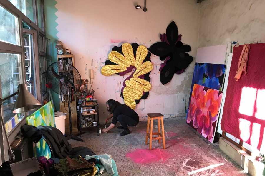 MATE Amigos íntimos en ateliers de artistas