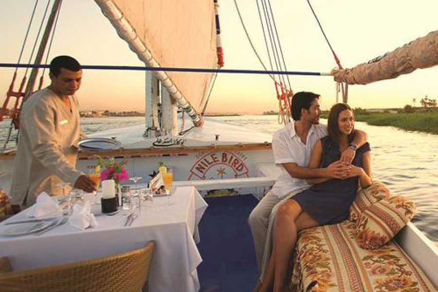 Marsa alam tours Sunset Sailing Trip with Felucca ride in Luxor