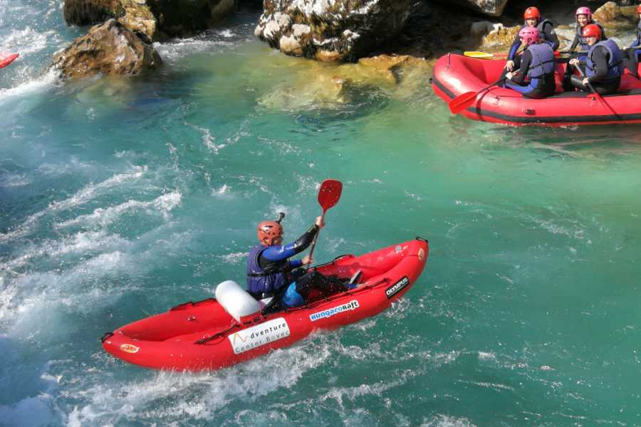 HungaroRaft Kft WhiteWater Kayaking on Soča River