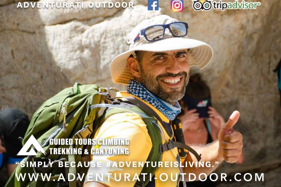 Adventurati Outdoor Night Canyoning and Wadi Drive with Local Dinner - UAE