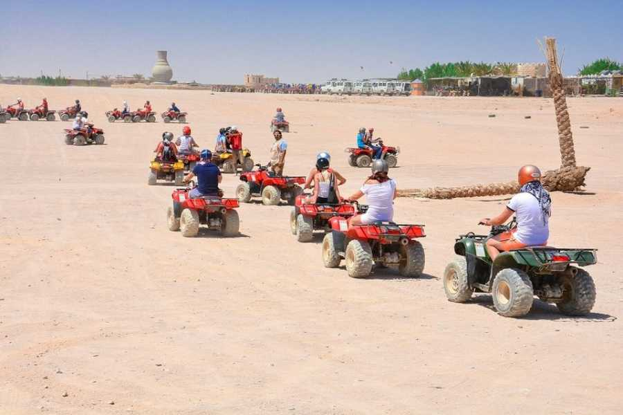 Marsa alam tours Morning Quad Bike Desert Safari excursion From El Gouna