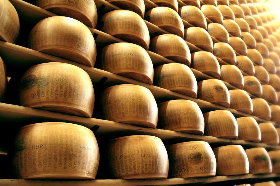 Parma Point Parmigiano-Reggiano flavoured experience
