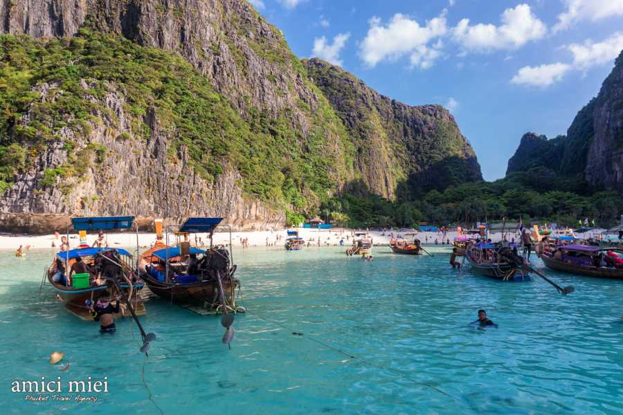 AMICI MIEI PHUKET TRAVEL AGENCY PHI PHI PREMIUM FULL DAY TOUR - AM120 -