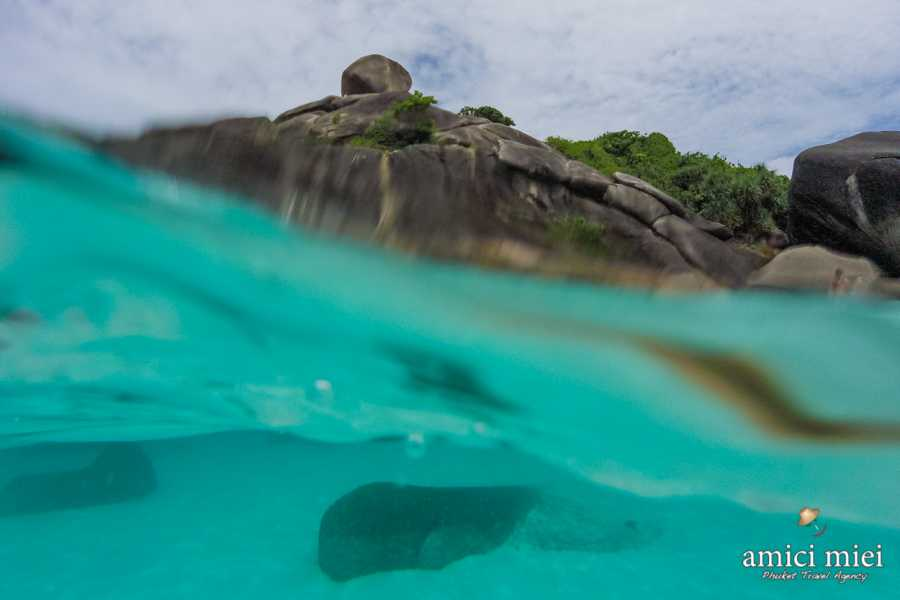 AMICI MIEI PHUKET TRAVEL AGENCY SIMILAN ISLAND NATIONAL PARK FROM SARASIN BRIDGE - AM104