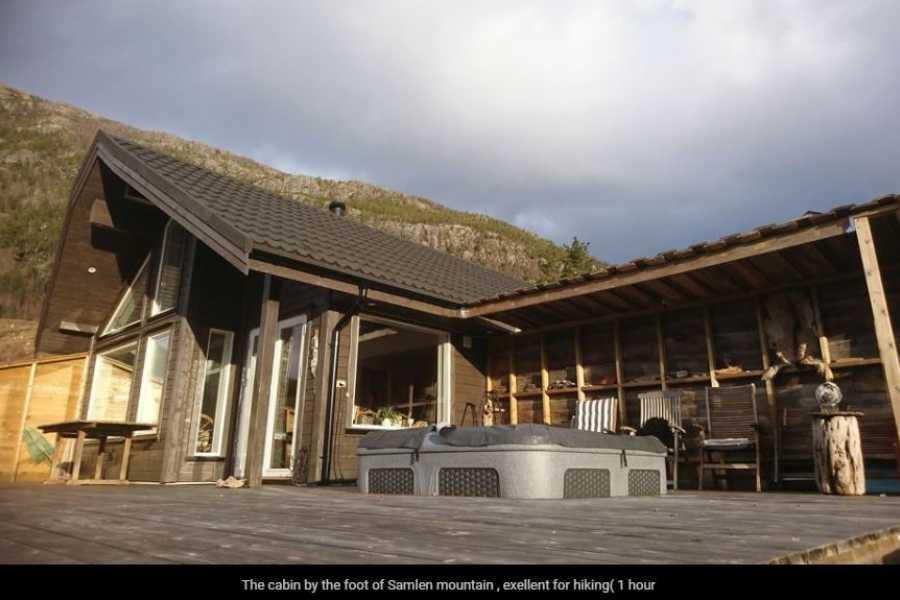 Juklafjord -Jondal Tourist Information Stor flott hytte i Herand